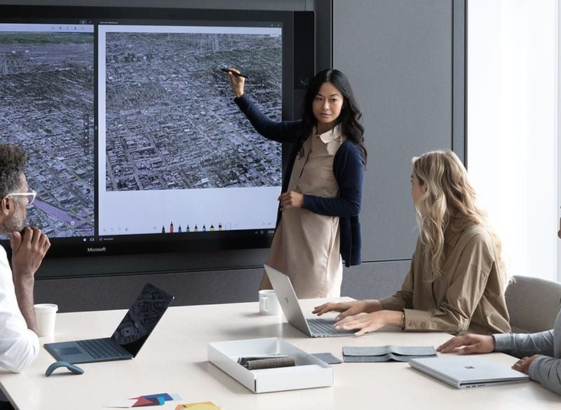 Surface Hub for business   Best Team Workspace in 2018