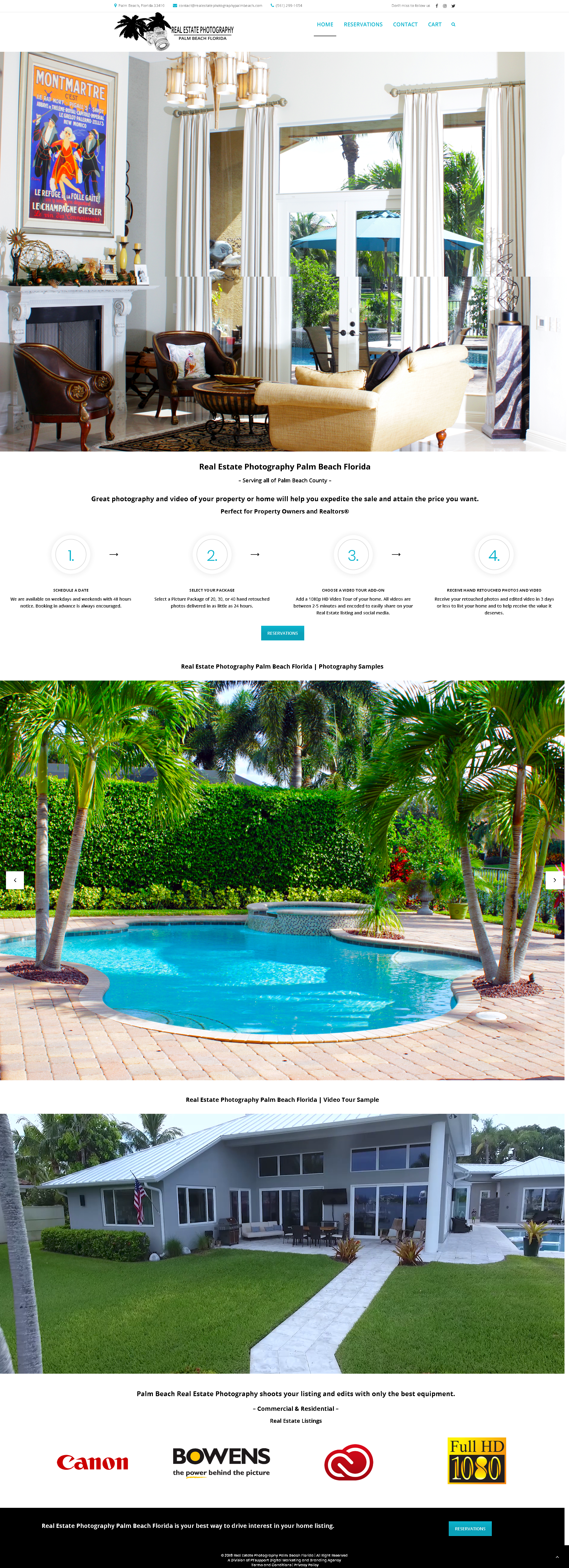Real Estate Photography Palm Beach Florida | PTsupport Web Design, Web Development, eCommerce, Branding, SEO local organic